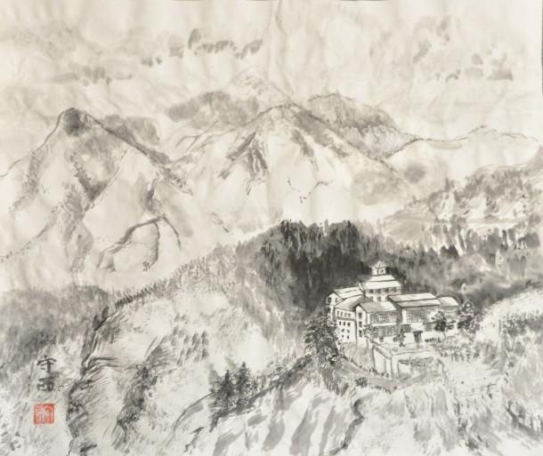 """Анна Скавитина """"Монастырь в горах"""""""