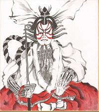Kabuki_2 Shikishi