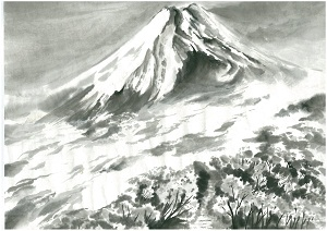 Mt.Fuji of the sea of clouds