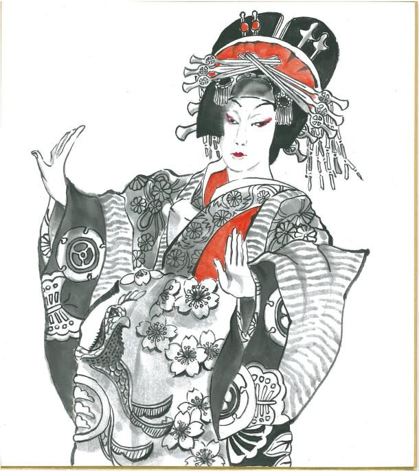 Kabuki_1 Shikishi