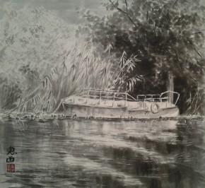Проплывая мимо старой лодки